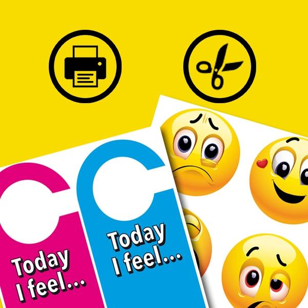 Bostik DIY South Africa Tutorial Emoji Door Hangers step 1