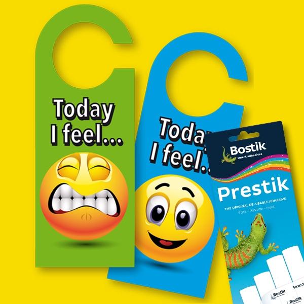 Bostik DIY South Africa Tutorial Emoji Door Hangers step 2