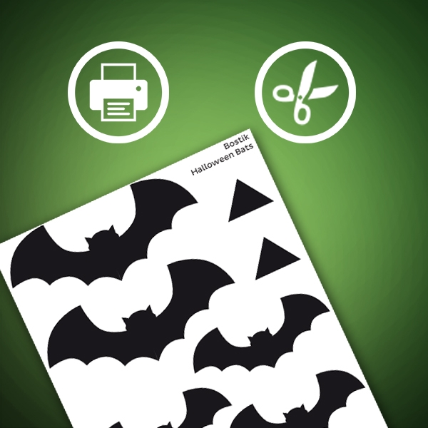 Bostik DIY South Africa Tutorial Halloween Bats step 1