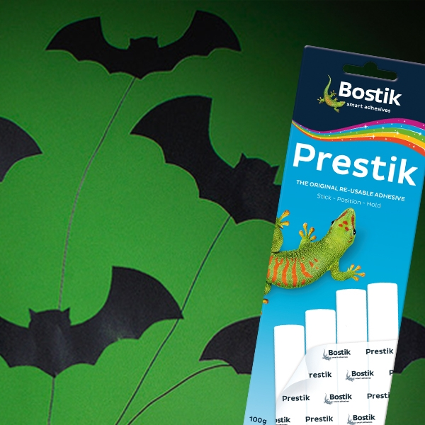 Bostik DIY South Africa Tutorial Halloween Bats step 4