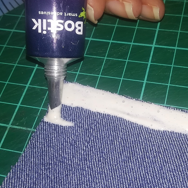 Bostik DIY South Africa Tutorial Sew Simple Pencil Bag step 2.1