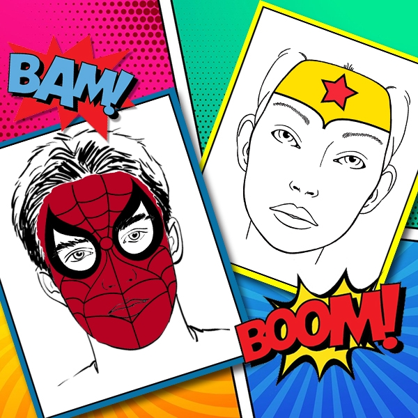 Bostik DIY South Africa Tutorial Superhero Facepaint teaser image