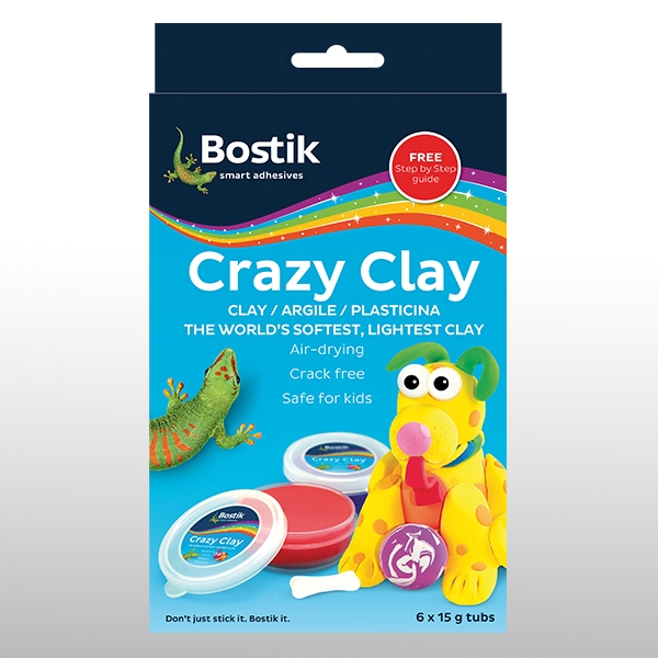 Bostik DIY South Africa Stationery - Crazy Clay product teaser