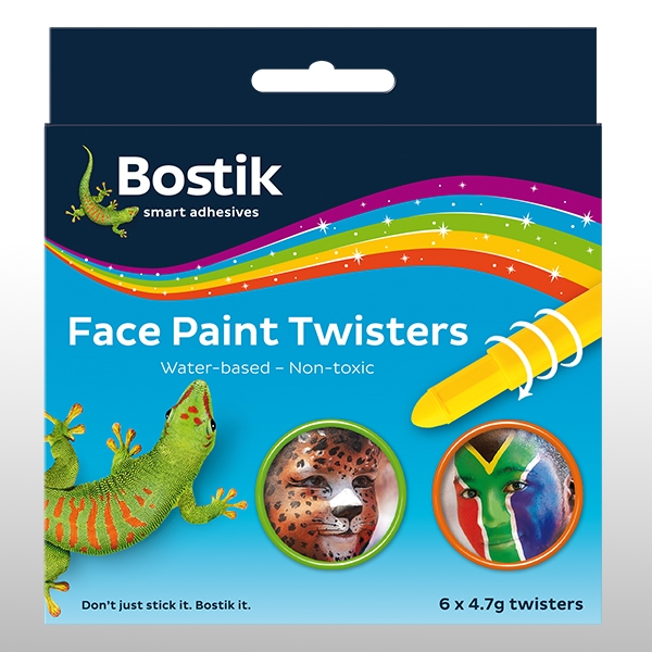 Bostik DIY South Africa Stationery - Face Paint Twister product teaser