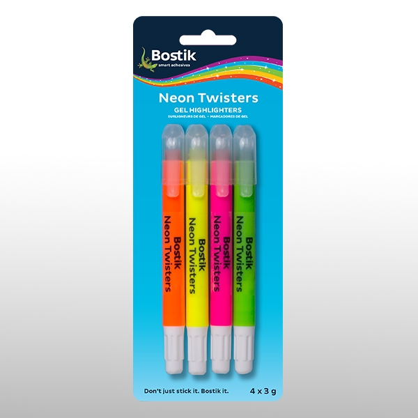 Bostik DIY South Africa Stationery - Neon Twister product teaser