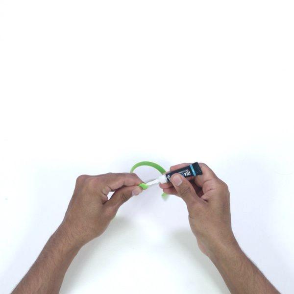 Fix rubber with bostik fix and glue