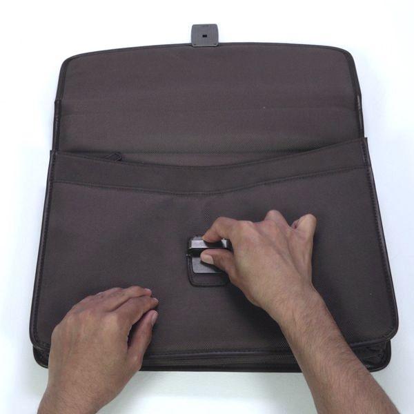 contact glue to repair a bag