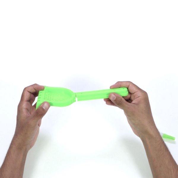 Broken plastic toy