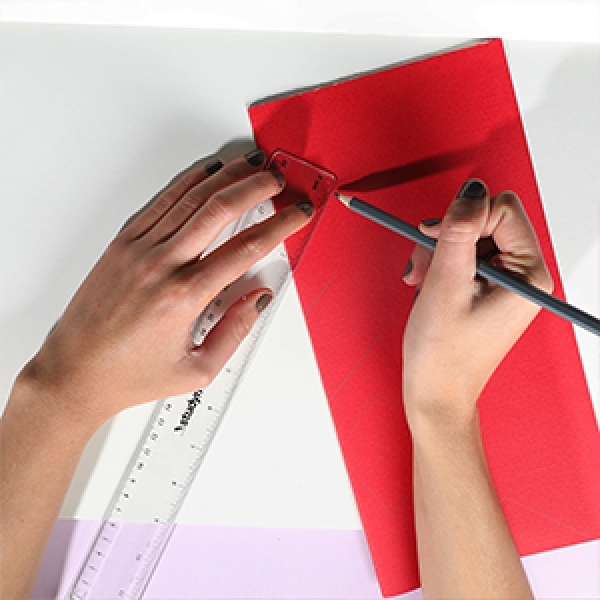Bostik DIY Singapore Ideas That Stick Heart Tesselation Craft step 2