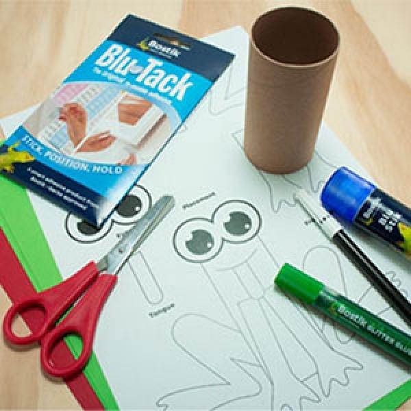 DIY Bostik Malaysia tutorail Bostik Frog step 1