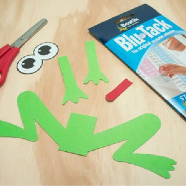 DIY Bostik Malaysia tutorail Bostik Frog step 3