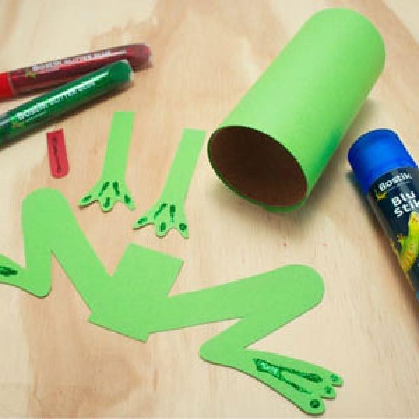DIY Bostik Malaysia tutorail Bostik Frog step 4