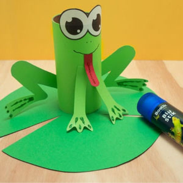 DIY Bostik Malaysia tutorail Bostik Frog step 5