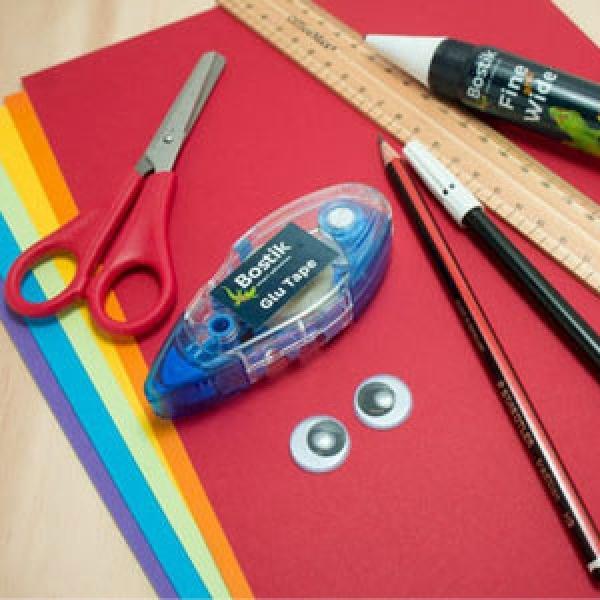 DIY Bostik Malaysia tutorail Bostik Snake step 1