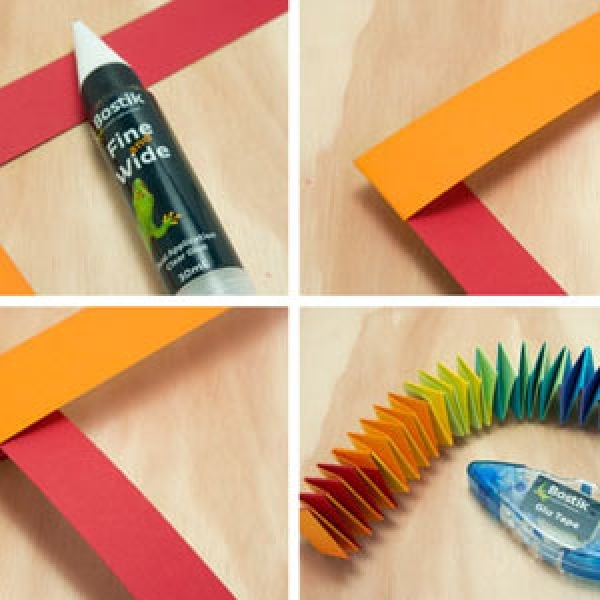 DIY Bostik Malaysia tutorail Bostik Snake step 3