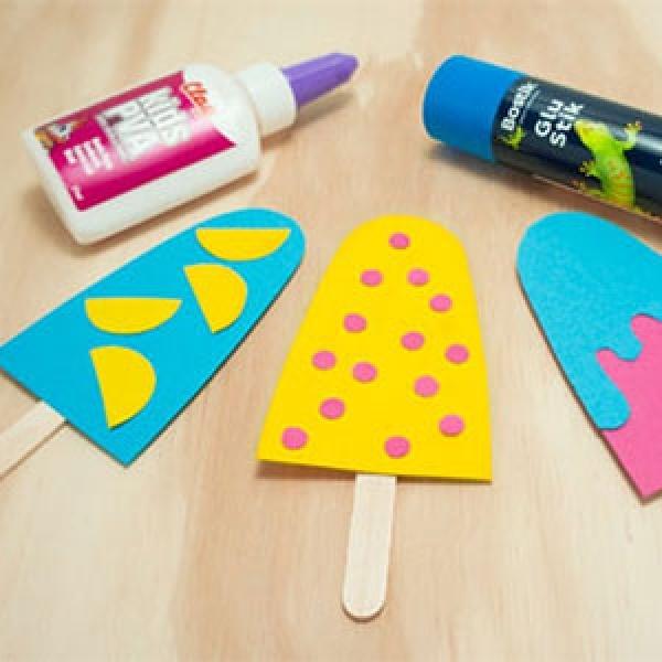 Bostik DIY Singapore Ideas That Stick Icy Pole step 3