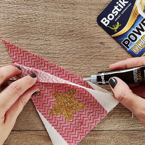 Bostik DIY Greece tutorial gemisto step 6