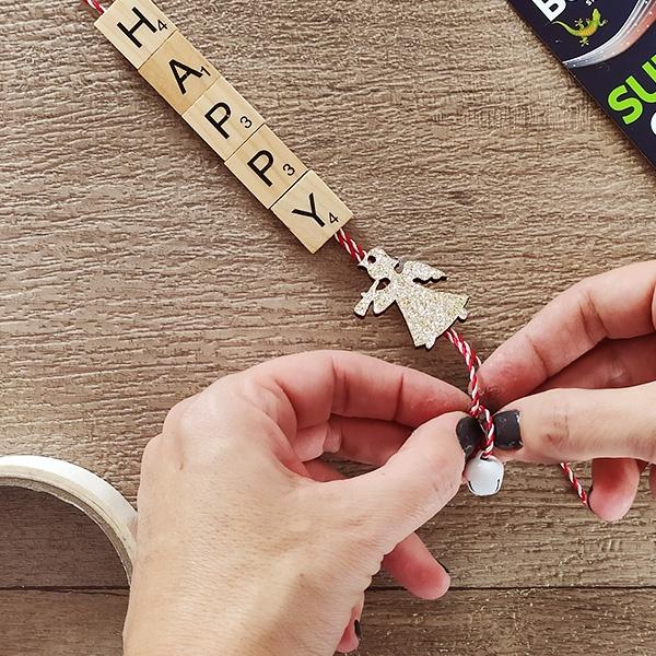 Bostik DIY Greece tutorial wooden letters step 6