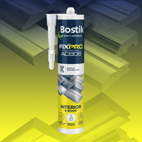 Bostik DIY Bulgaria Fixpro Interior Wood High Grip product image