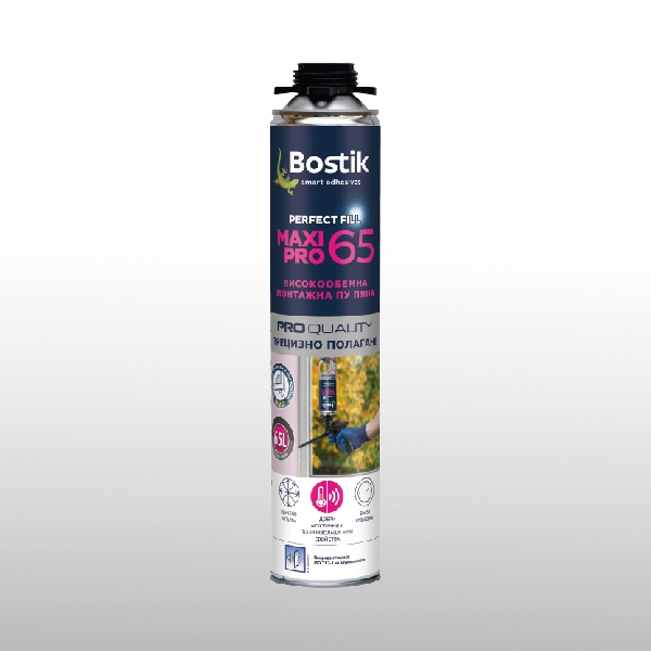 Bostik DIY Bulgaria Perfect Fill Maxi 65 Pro Foam product image