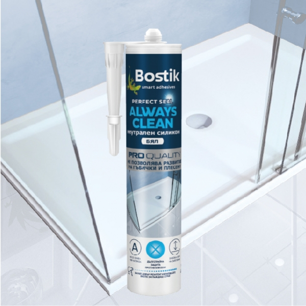 Bostik DIY Bulgaria Perfect Seal Always Clean product image