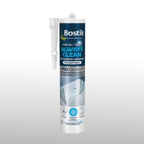 Bostik DIY Bulgaria Perfect Seal Always Clean product image