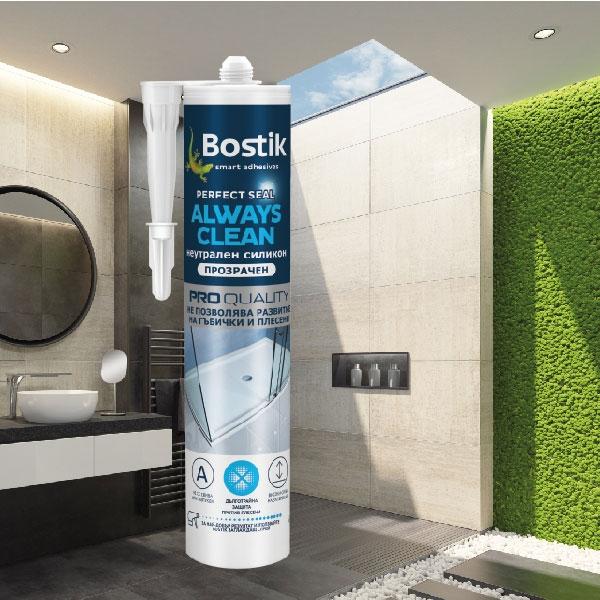 Bostik DIY Bulgaria Perfect Seal range teaser