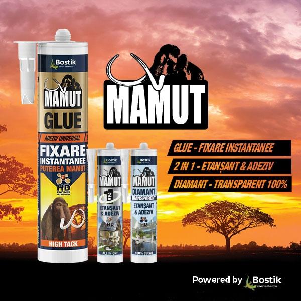 Bostik DIY Romania mamut range teaser