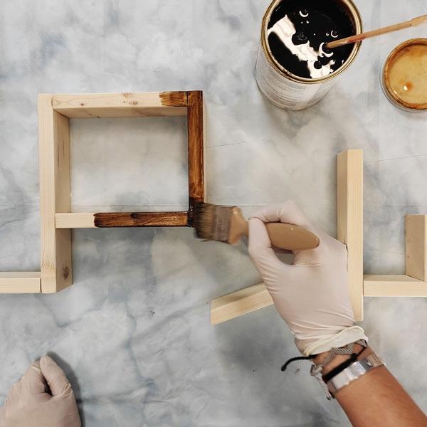 Bostik DIY Greece tutorial valentines day step 21