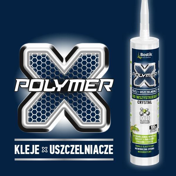 Bostik DIY Poland X-Polymer range teaserimage