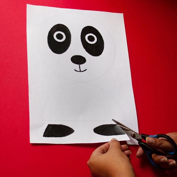 Bostik DIY South Africa Tutorial Panda step 2