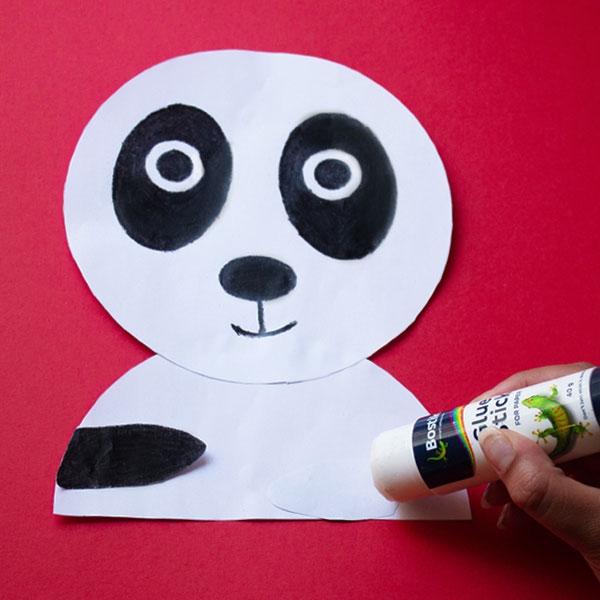Bostik DIY South Africa Tutorial Panda step 3