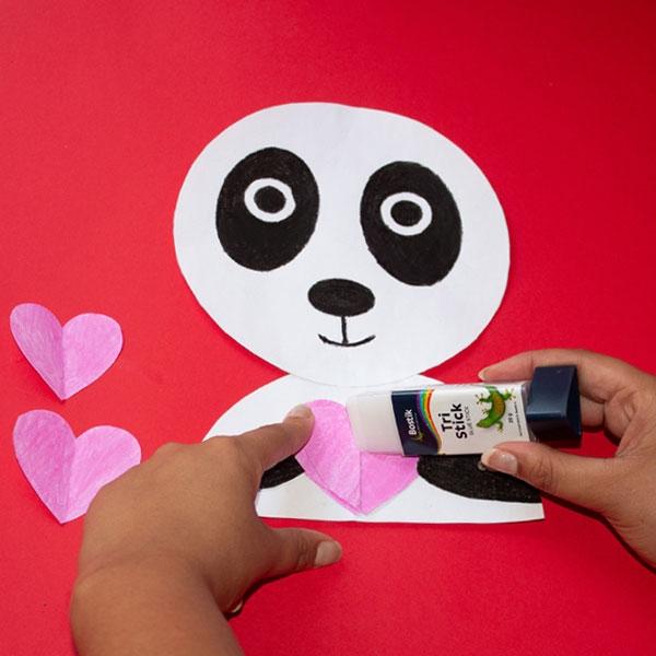 Bostik DIY South Africa Tutorial Panda step 4
