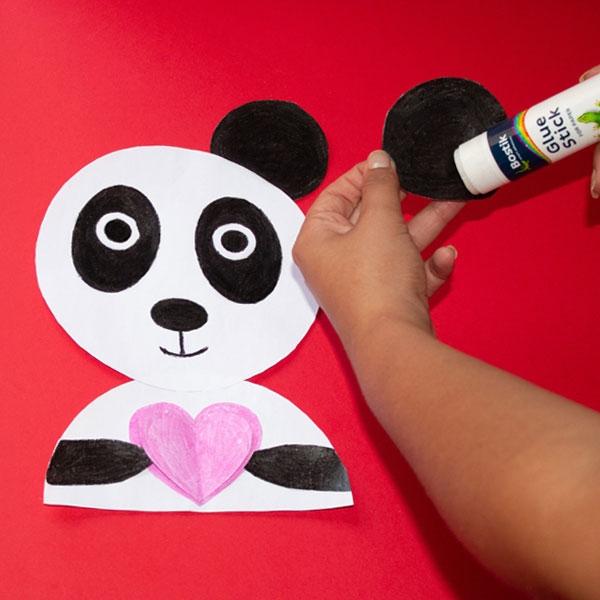 Bostik DIY South Africa Tutorial Panda step 5