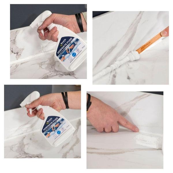Bostik DIY Germany tutorial How to make kitchen seal step 4