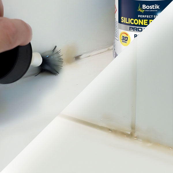 Bostik DIY Germany tutorial How to remove an old sealant step 2