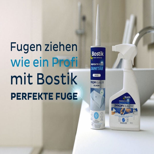 Bostik DIY Germany tutorial Should I smooth sealants with dish soap step 7