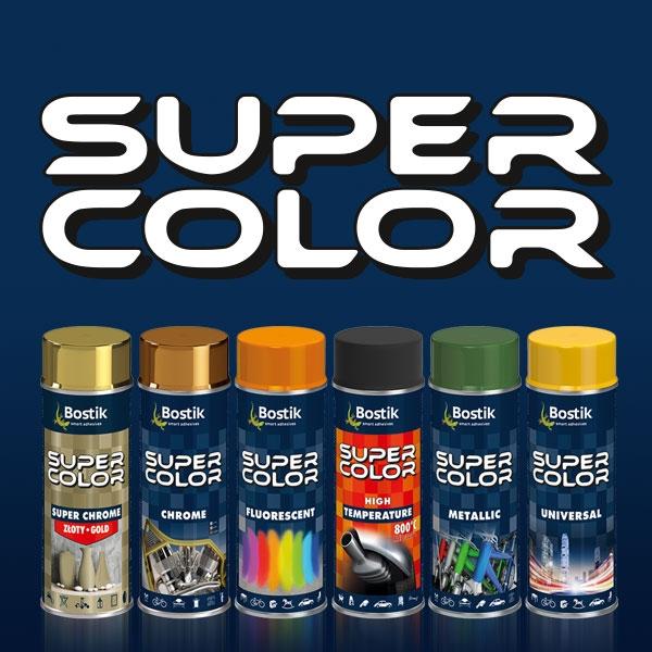 Bostik DIY Poland Super Color range teaser image
