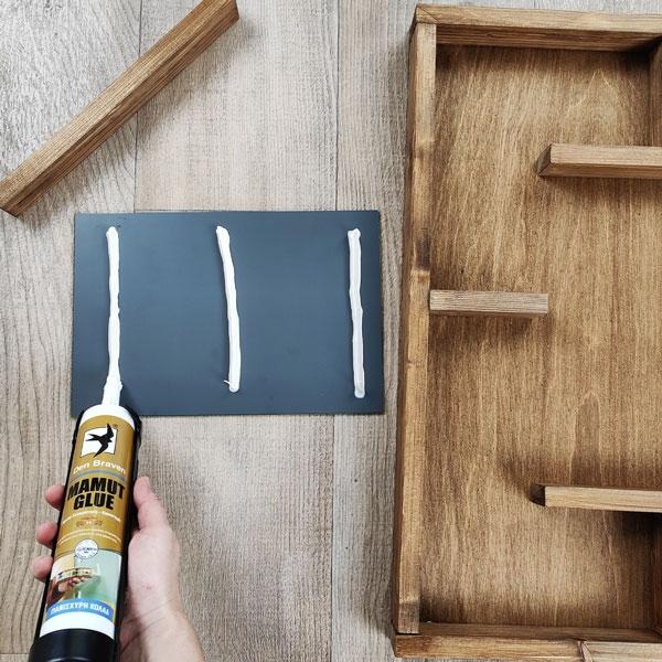 Bostik DIY Greece tutorial kosmimata sxedio step 6