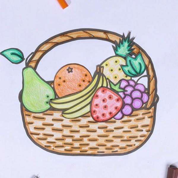 Bostik DIY Hong Kong tutorial fruit basket banner