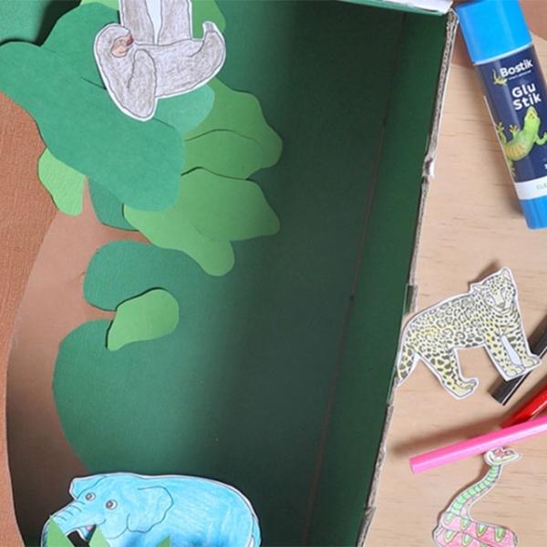 Bostik DIY Hong Kong tutorial rainforest banner