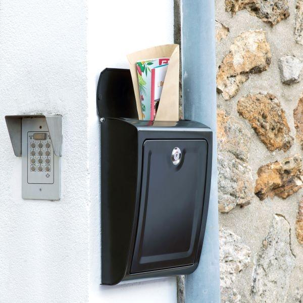 Fixer une boîte aux lettres sans percer step 5 colle intérieur extérieur