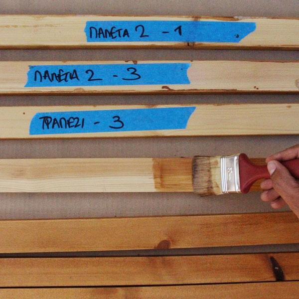 Bostik DIY Greece tutorial palet couch step 3