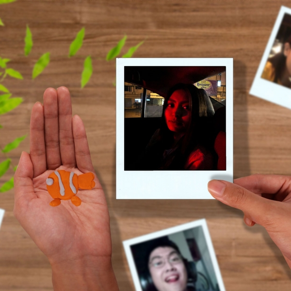 Bostik DIY Philippines Tutorial Easy Way to Display Your Photos Using Blu Tack Step 1