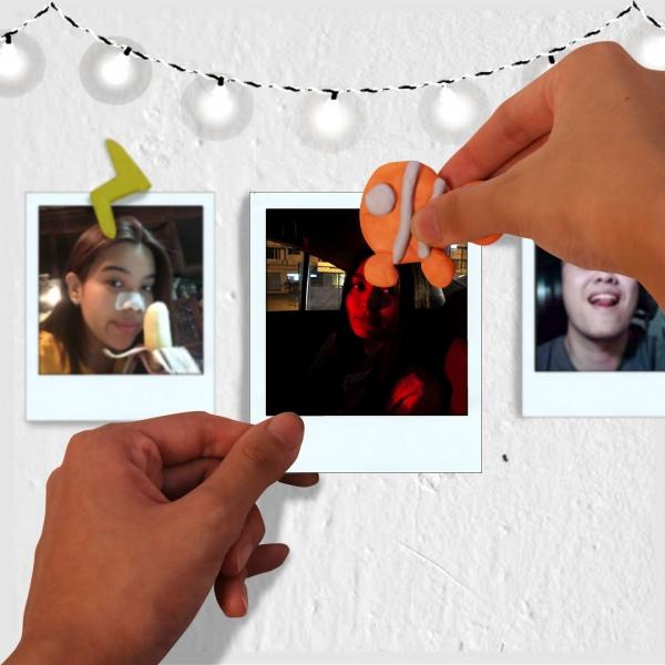 Bostik DIY Philippines Tutorial Easy Way to Display Your Photos Using Blu Tack Step 3