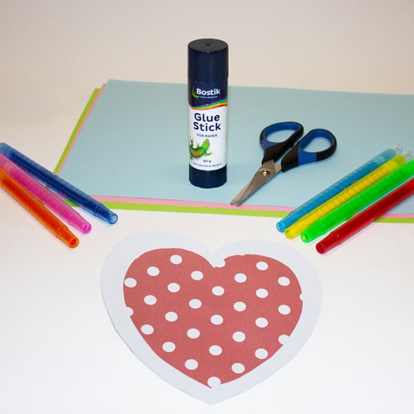 Bostik DIY South Africa Tutorial Mother's Day Card Step 2