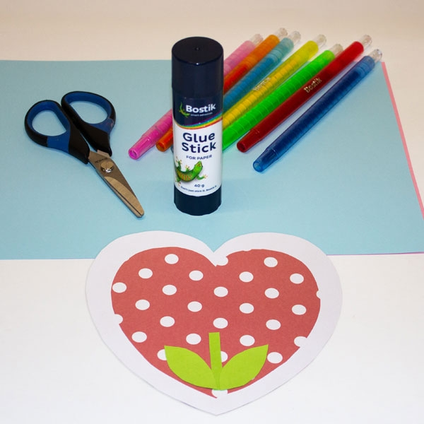 Bostik DIY South Africa Tutorial Mother's Day Card Step 3