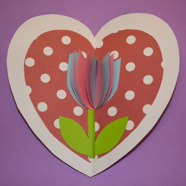 Bostik DIY South Africa Tutorial Mother's Day Card Step 5