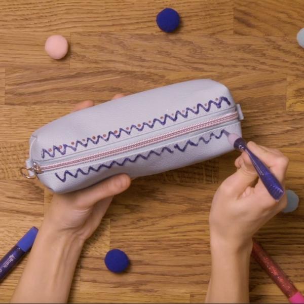Bostik DIY United Kingdom how to use Glitter Glue step 4