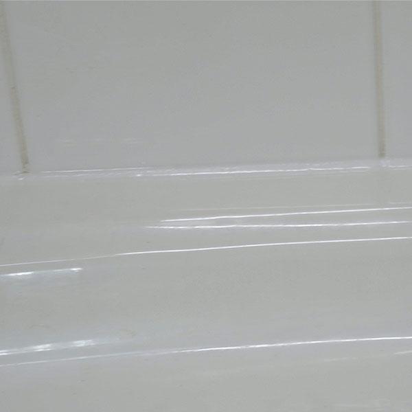 Bostik DIY France tutorial how to seal a shower step 5